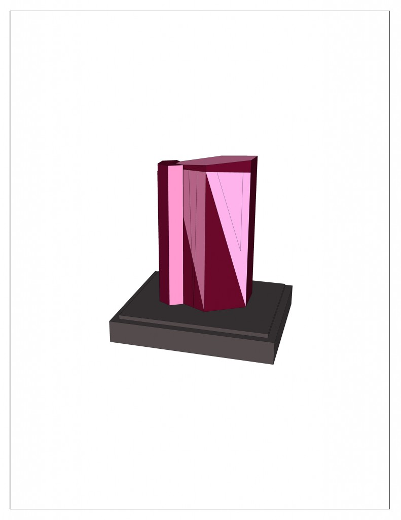 "Tourmaline, archival pigment print, 8.5""x11"", edition of 100, 2014."